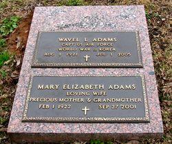 Capt Wavel L Adams
