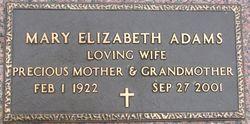Mary Elizabeth Adams