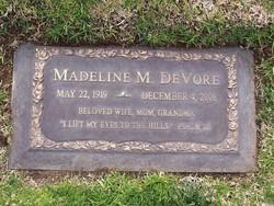 Madeline M. <i>Harris</i> DeVore