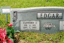 Clifford J 'Cliff Edgar