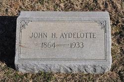 John H. Aydelotte