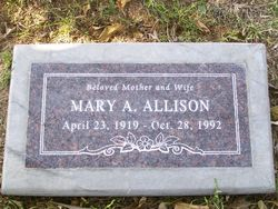 Mary A <i>Griffin</i> Allison