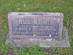 Henry M Buckland