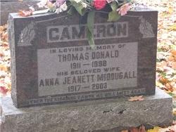 Thomas Donald Cameron