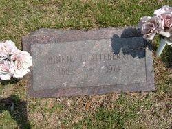 Minnie E <i>Mathis</i> Atteberry