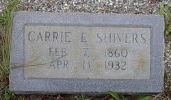 Carrie Elizabeth Babe <i>Bishop</i> Shivers