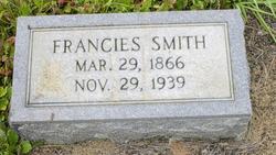 Francies <i>Bishop</i> Smith