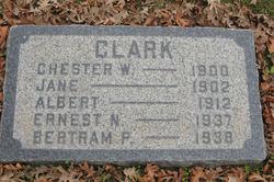 Chester W Clark