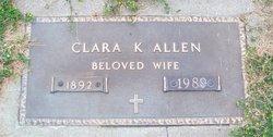 Clara Gertrude <i>Kamradt</i> Allen