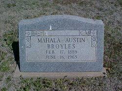 Mahala <i>Hall</i> Broyles