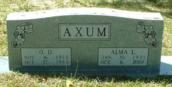 Alma Louise <i>Caskey</i> Axum