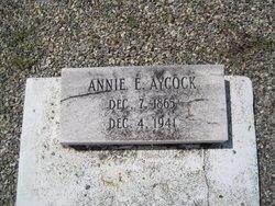 Annie Elizabeth Rebecca <i>Newberry</i> Aycock