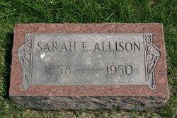 Sarah E. <i>Gipson</i> Allison