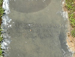 Dr James Henderson Bryans