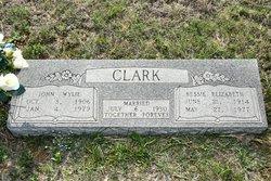 Bessie Elizabeth <i>McMeans</i> Clark