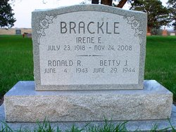 Irene E <i>Hergott</i> Brackle