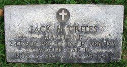 Lieut Jack M Crites