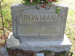 J Fred Bowman