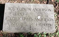 Beverley <i>Davis</i> Anderson