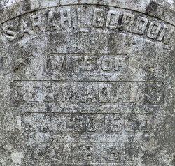 Sarah L <i>Gordon</i> Adams