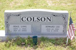 Odail Aline <i>Long</i> Colson