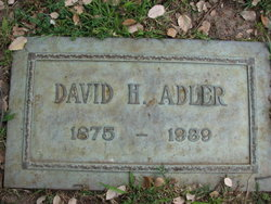 David H. Adler