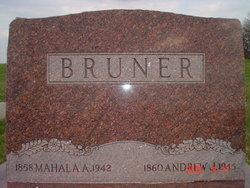 Mahala Angeline <i>Goodrich</i> Bruner