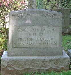 Grace <i>Zell</i> Callum