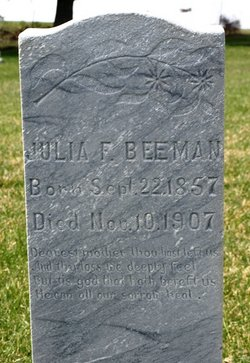 Julia Frances <i>Beebe</i> Beeman