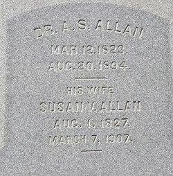 Dr Algernon Sidney Allan