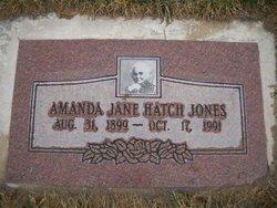 Amanda Jane <i>Hatch</i> Jones
