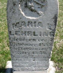Mary Emelia Lehrling