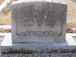 Gennie <i>McCurley</i> Branyon