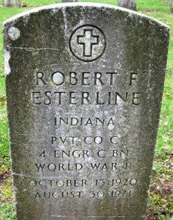 Pvt Robert Frederick BOB Baldy Esterline