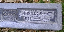 John M Crofoot