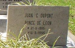 Juan C. <i>Dupont</i> Ponce De Leon