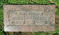 Agnes Galbraith <i>Hay</i> Gillon
