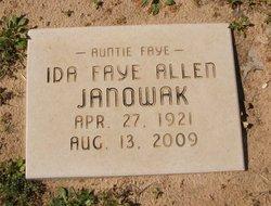 Ida Faye <i>Allen</i> Janowak