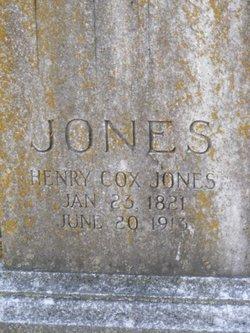 Henry Cox Jones
