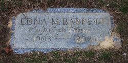 Edna M Barrett
