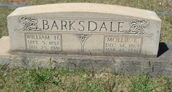 Mary Elizabeth Mollie <i>Garrett</i> Barksdale