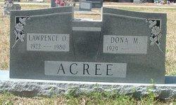 Lawrence O Acree