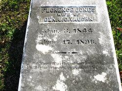 Florence <i>Jones</i> Vaughn