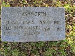 Elizabeth Amanda <i>Green</i> Ashworth