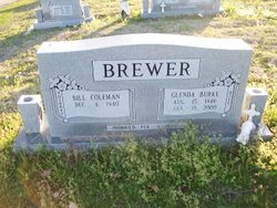 Glenda <i>Burke</i> Brewer