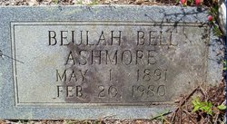 Beulah <i>Bell</i> Ashmore