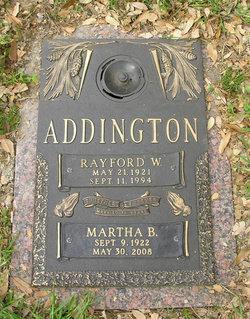 Rayford W Addington