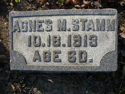 Agnes M Stamm