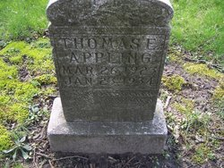 Thomas E Appling