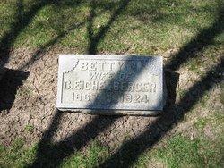 Betsy Elizabeth <i>Naper</i> Eichelberger